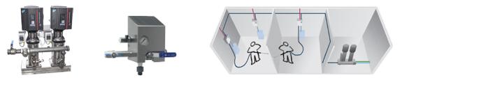 NITA Mitteldruck Reinigungssysteme (10 - 50 bar)