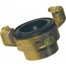 Wasseranschluss-Kupplungen, Messing, IG Gewinde