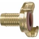 Wasseranschluss-Kupplungen, Messing, KTW, Schlauchtülle